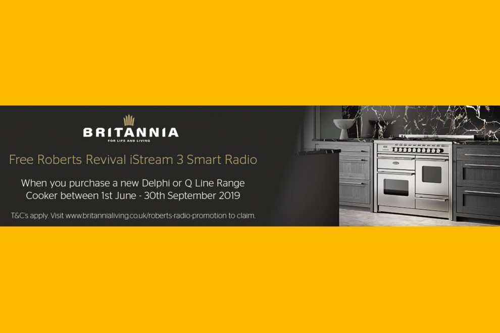 Britannia Free Roberts Smart Radio