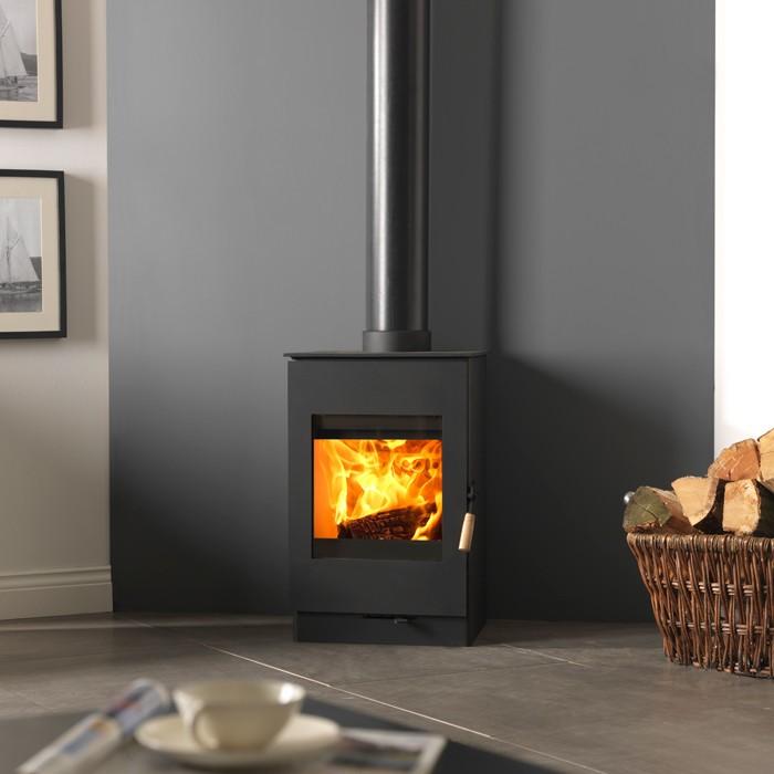 Burley 9305 Bradgate Firecube Wood Burning Stove ...
