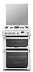 Hotpoint HUG61P Gas Cooker