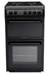 Hotpoint HAG51K Gas Cooker