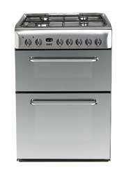 Indesit KDP60SES Dual Fuel Cooker