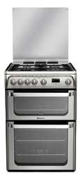 Hotpoint HUG61X Gas Cooker