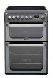 Hotpoint HUE61GS Electric Cooker