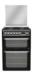 Hotpoint HUD61KS Dual Fuel Cooker