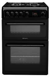 Hotpoint HAG60K Gas Cooker