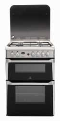 Indesit ID60G2X Gas Cooker