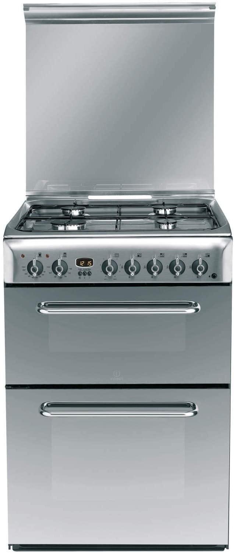 Indesit KDP60SE Dual Fuel Cooker