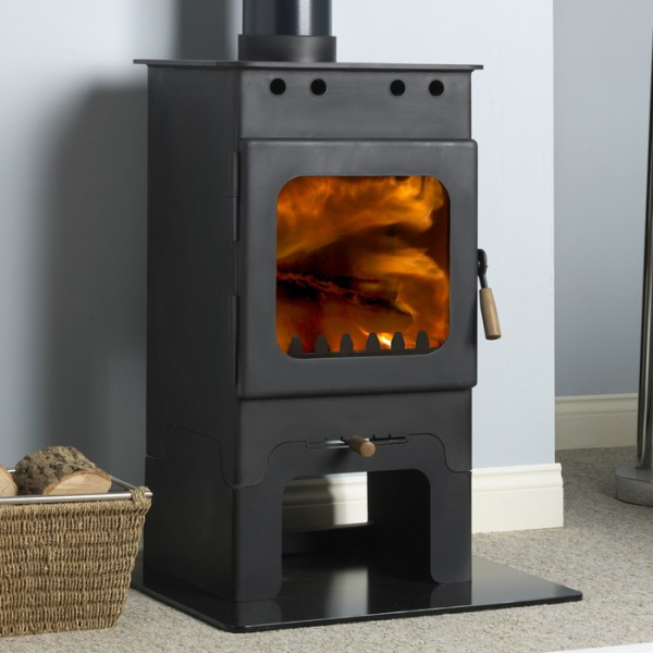 Burley 9105 Holywell Fireball Wood Burning Stove