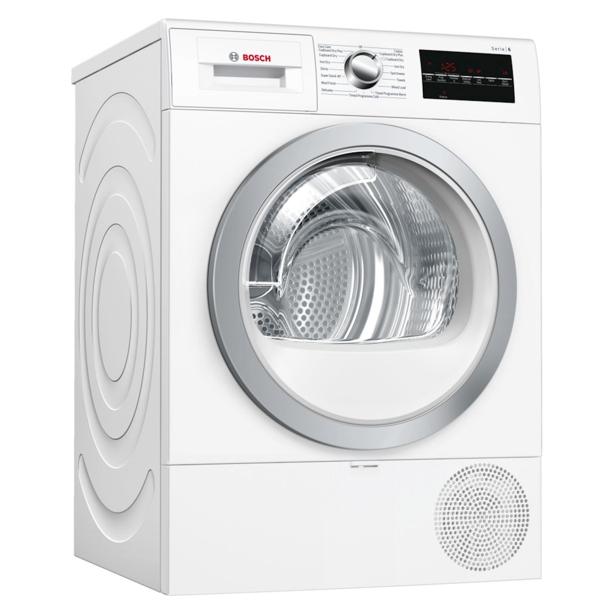 Bosch WTR88T81GB 8kg Tumble Dryer