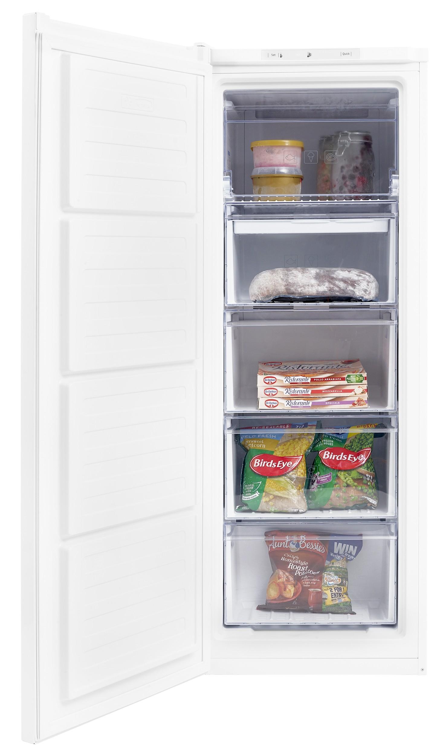 Beko FFG1545W Freestanding Tall Frost Free Freezer