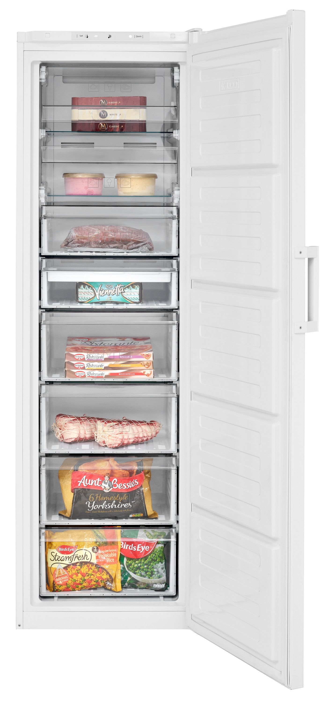 Beko FFP3579W Freestanding Tall Frost Free Freezer