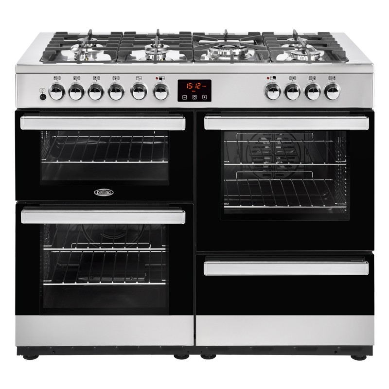 Belling Cookcentre 110DFT 110cm Steel Range Cooker