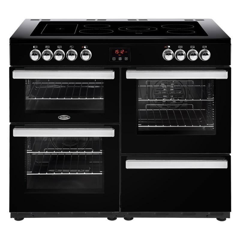 Belling Cookcentre 110E 110cm Black Range Cooker