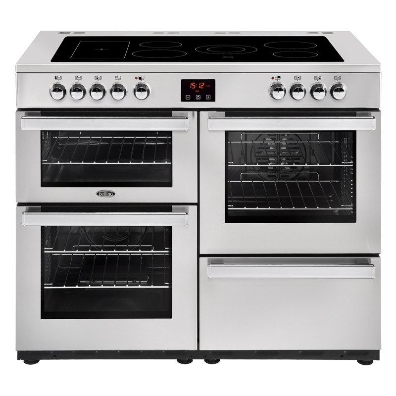Belling Cookcentre 110E 110cm Professional Steel Range Cooker