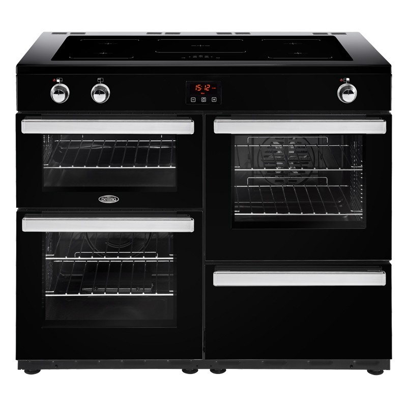 Belling Cookcentre 110EI 110cm Black Range Cooker