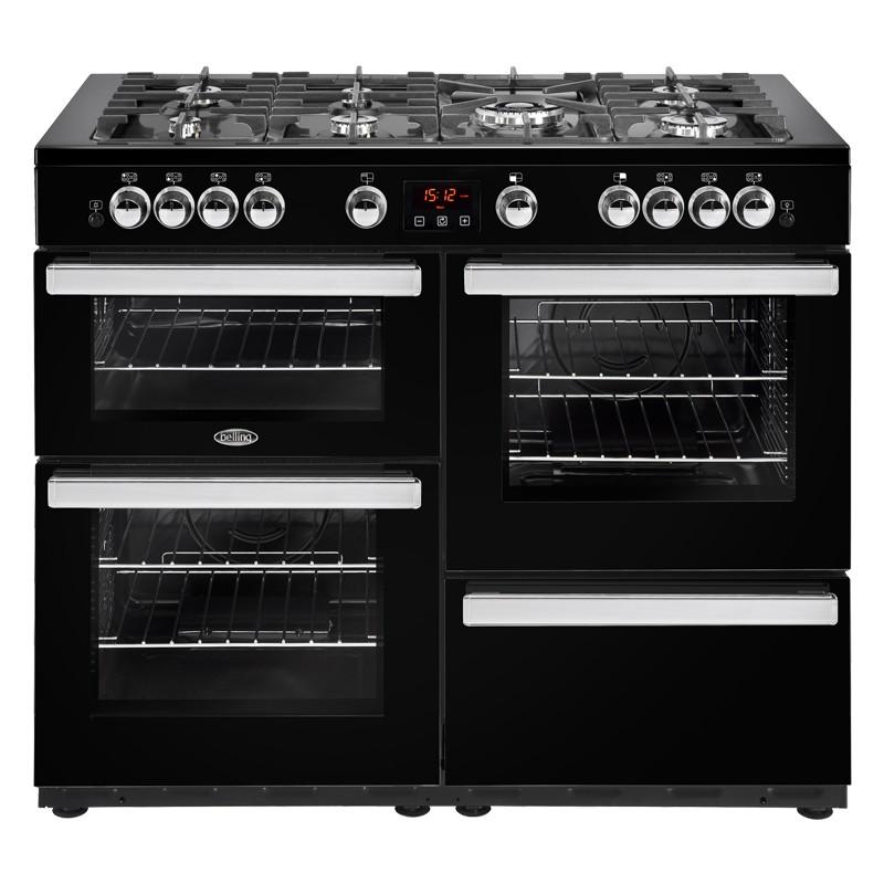 Belling Cookcentre 110G 110cm Black Range Cooker