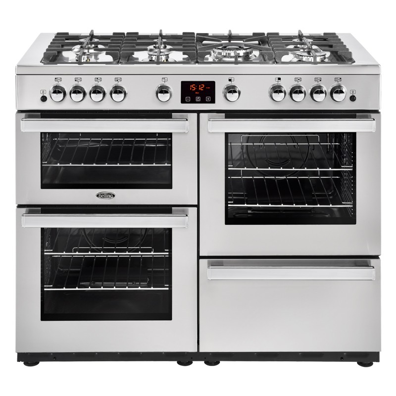 Belling Cookcentre 110G 110cm Professional Steel Range Cooker