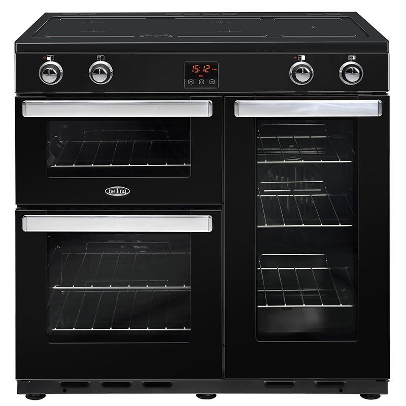 Belling Cookcentre 90EI 90cm Black Range Cooker