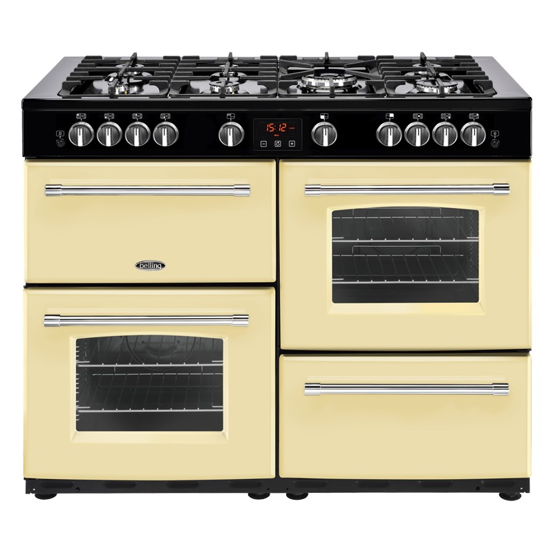 Belling Farmhouse 110G 110cm Cream Range Cooker