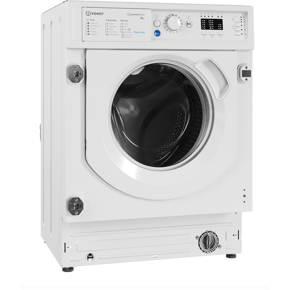 Indesit BIWMIL81284 8kg 1200rpm Washing Machine