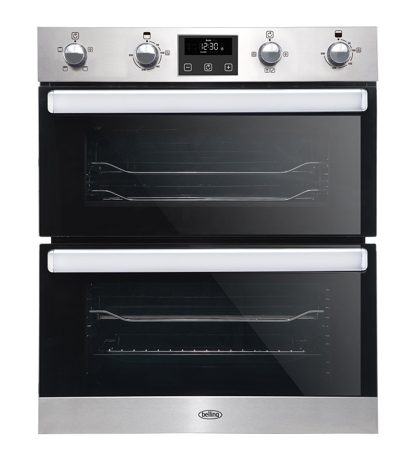 Belling BI702FPCT Stainless Steel Double Oven