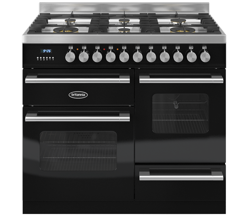Britannia Delphi RC10XGGDEK Dual Fuel Range Cooker