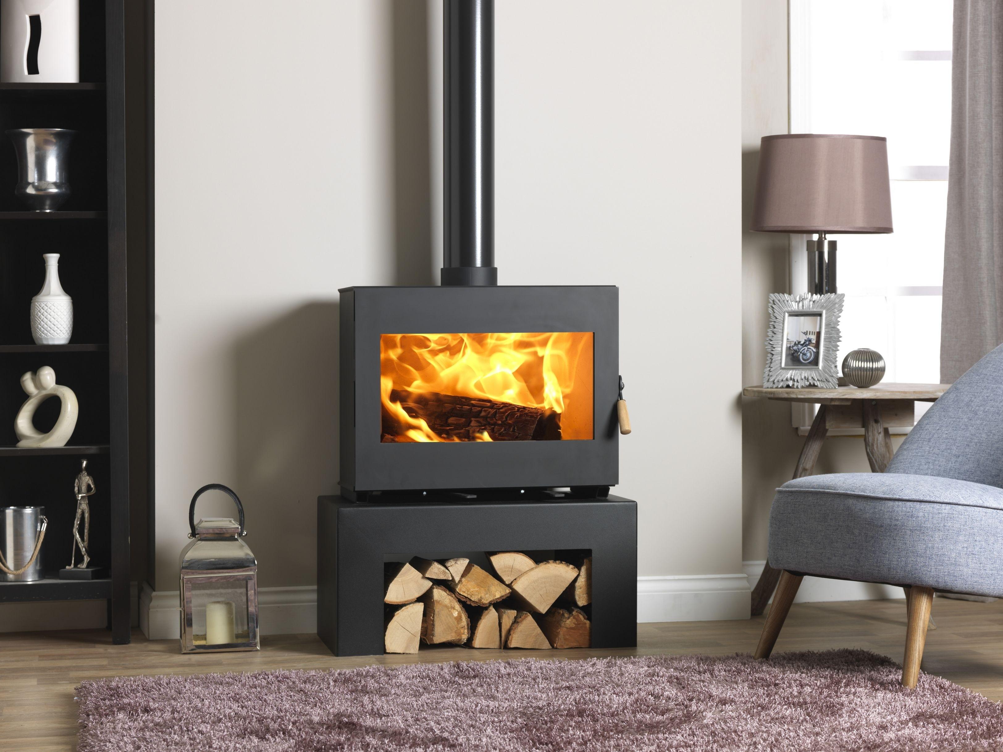 Burley 9507 Briary Panoramic Wood Burning Stove