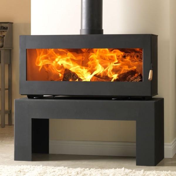 Burley 9510 Westhay Panoramic Wood Burning Stove