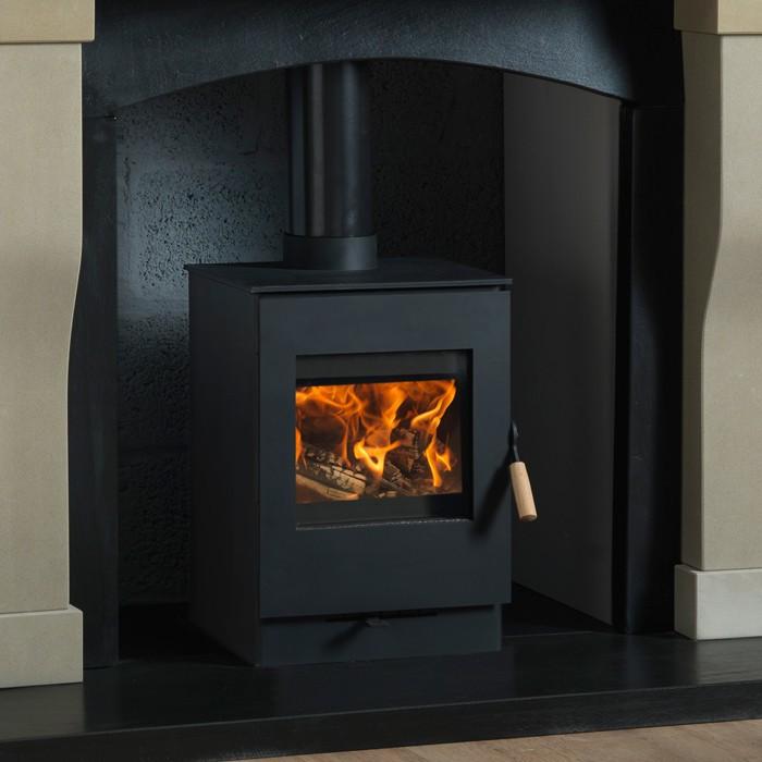 Burley 9304C Launde Firecube Wood Burning Stove