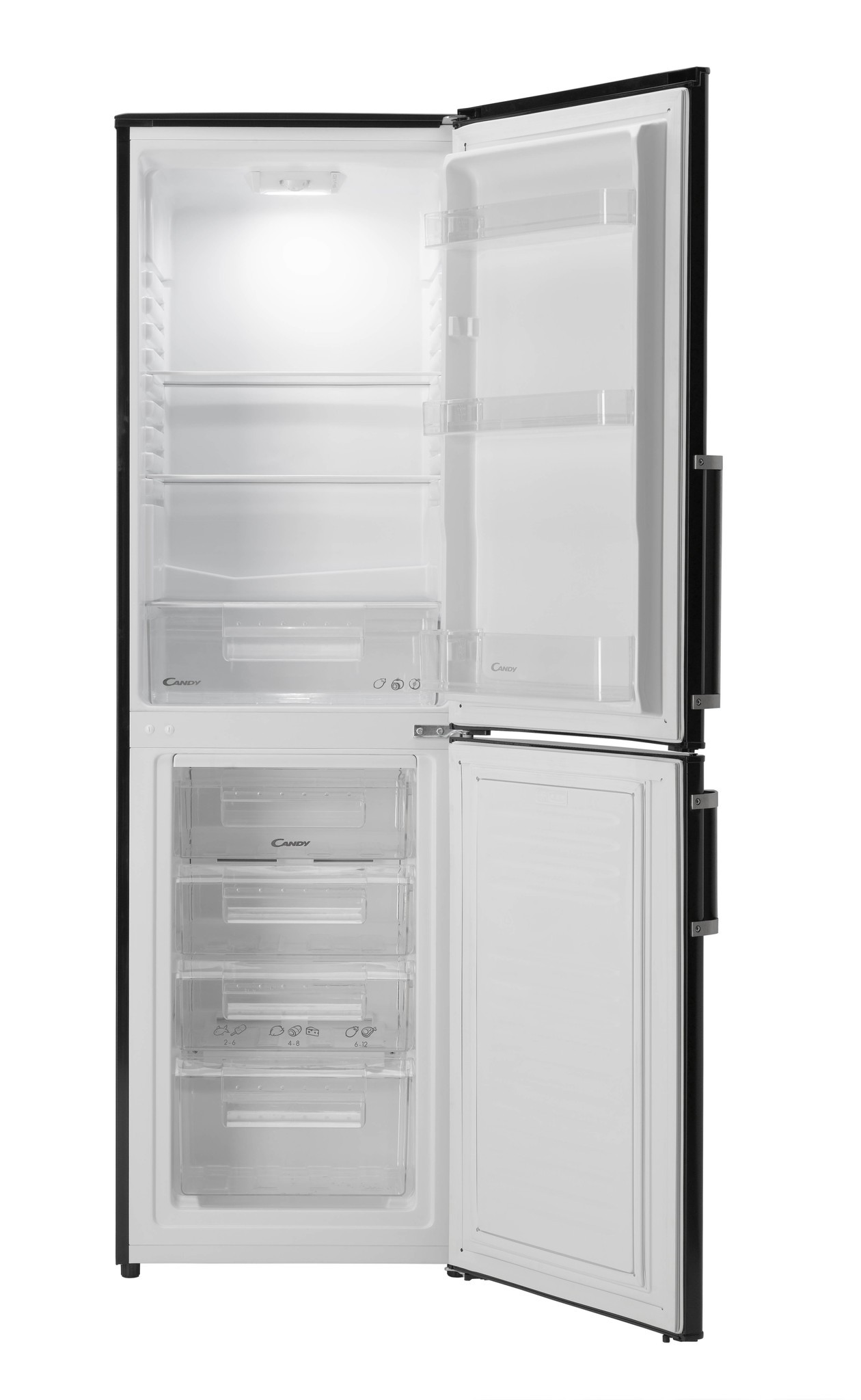 Candy CCBF5172BHK Fridge Freezer