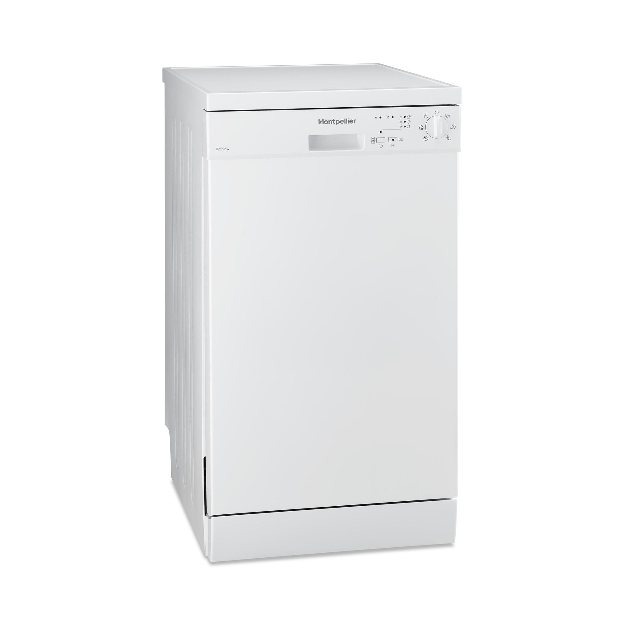Montpellier DW1065W Slim Line Dishwasher