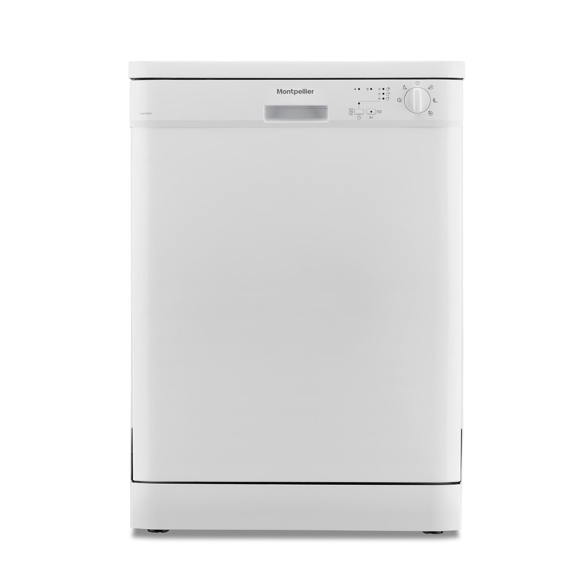 Montpellier DW1255W Full Size Dishwasher