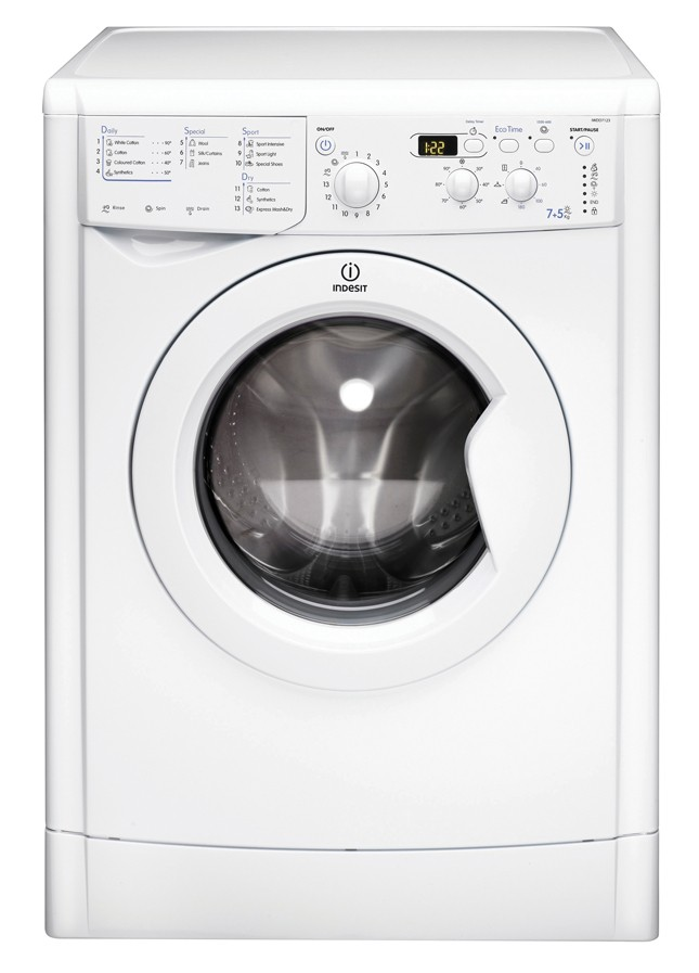 Indesit IWDD7123 7kg/5kg 1200rpm Washer-Dryer