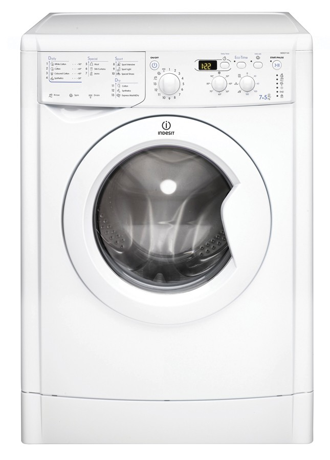 Indesit IWDD7143 7kg/5kg 1400rpm Washer-Dryer