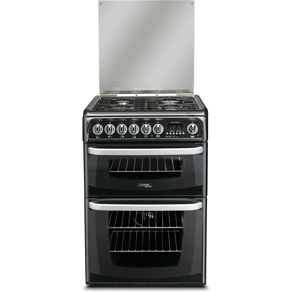 Hotpoint CH60DHKF Dual Fuel Cooker