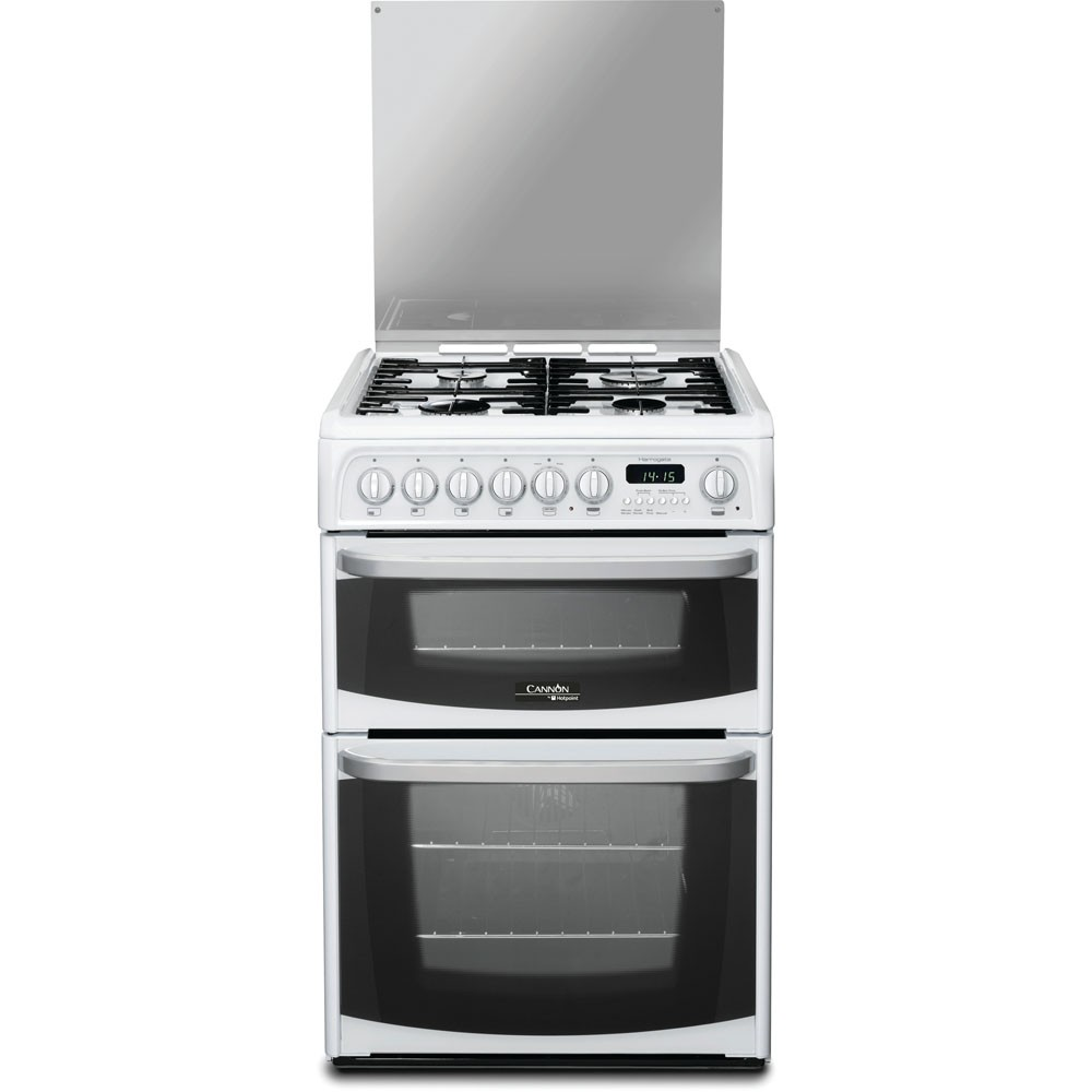 Hotpoint CH60DHWF Dual Fuel Cooker