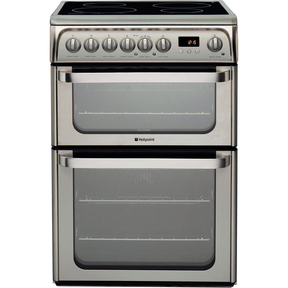Hotpoint HUI611X Electric Cooker
