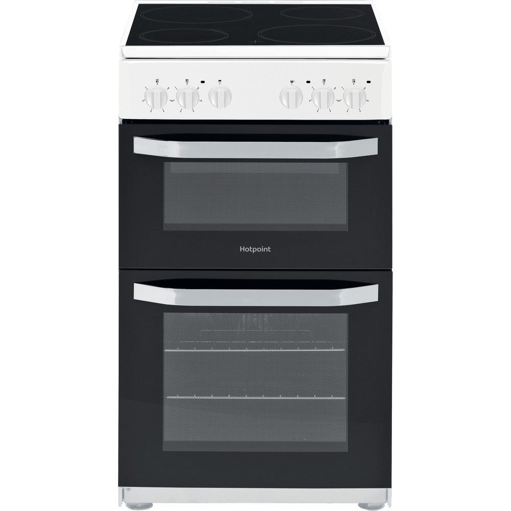 Hotpoint HD5V92KCW Electric Cooker