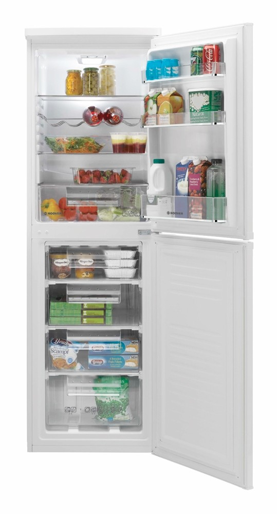 Hoover HCN6182WK Fridge Freezer