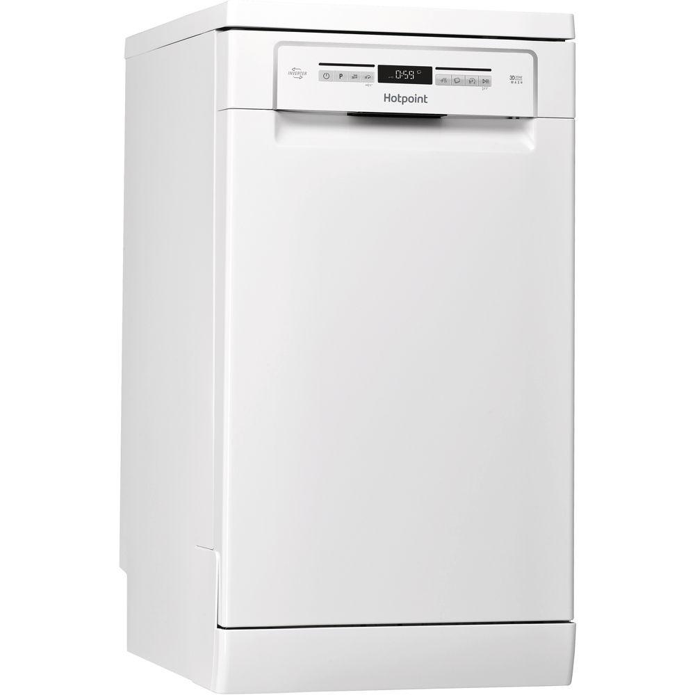 Hotpoint HSFO3T223W Slim Line Dishwasher