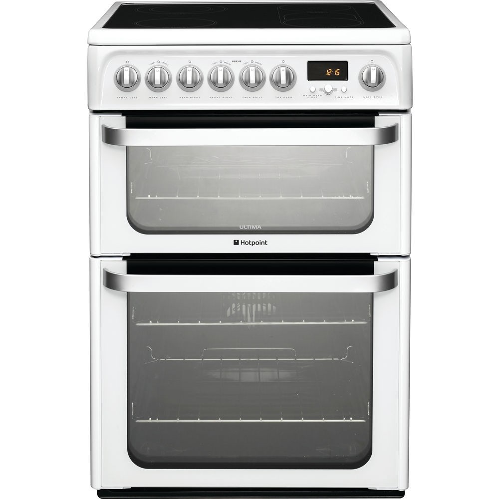 Hotpoint HUE62PS Electric Cooker