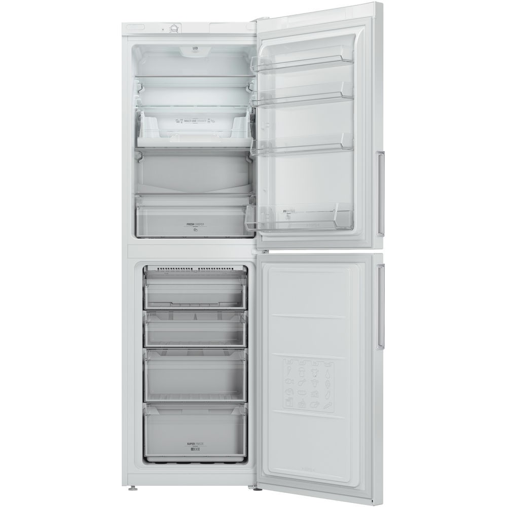 Hotpoint LEX85N1W Fridge Freezer
