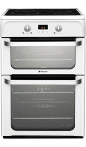 Hotpoint HUI612P Electric Cooker