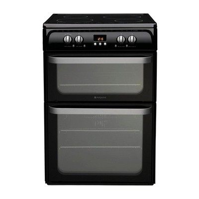 Hotpoint HUI614K Electric Cooker