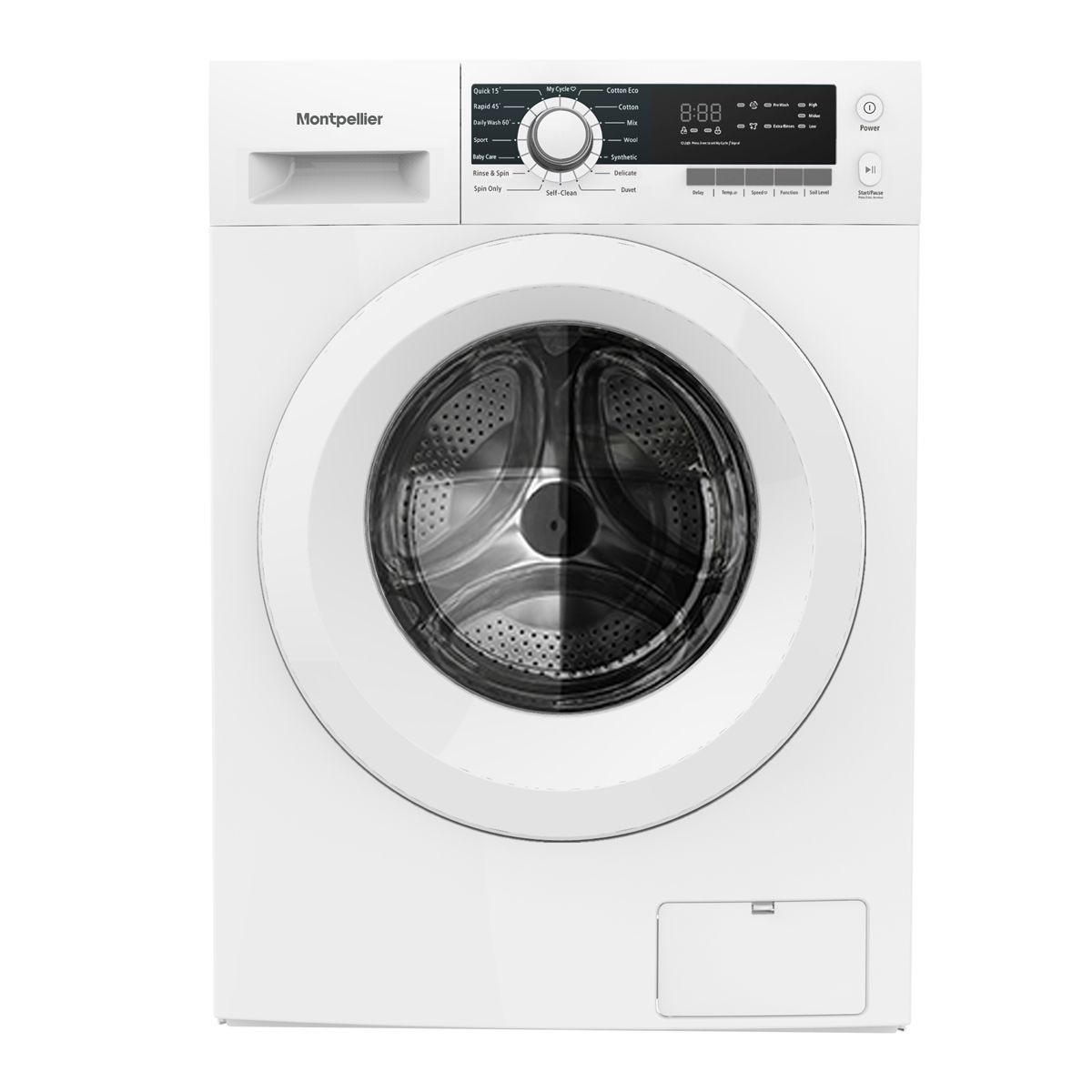 Montpellier MW7142P 7kg 1400rpm Washing Machine