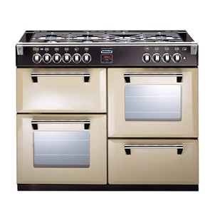Stoves Richmond S1100DF 110cm Dual Fuel Range Cooker Cream