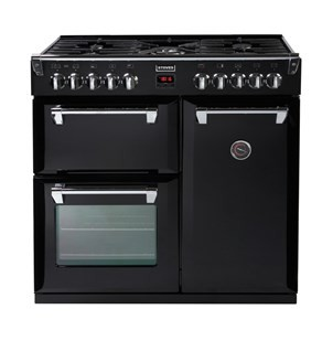 Stoves Richmond S900DF 90cm Dual Fuel Range Cooker Black