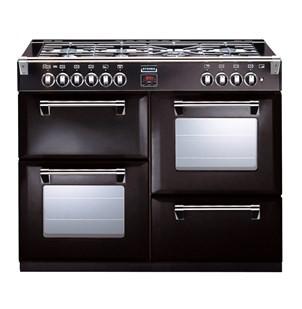 Stoves Richmond S1000DF 100cm Dual Fuel Range Cooker Black