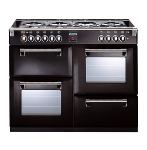 Stoves Richmond S1100DF 110cm Dual Fuel Range Cooker Black