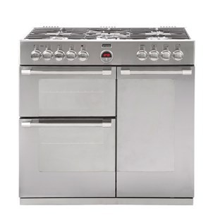 Stoves Sterling S900DF 90cm Dual Fuel Range Cooker Stainless Steel